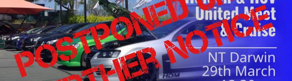 Holden  HSV United Meet  Cruise (NT) *POSTPONED* Cover Image