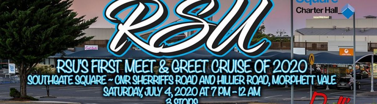 RSU's First Meet & Greet Cruise Of 2020 (SA) Cover Image