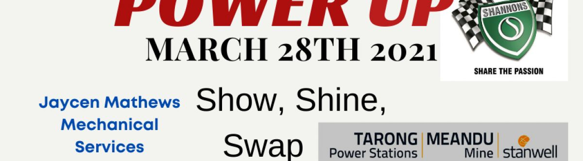 Power Up Show, Shine & Swap Meet (Qld) Cover Image
