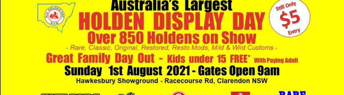 NSW All Holden Display Day 2021 (NSW) Cover Image