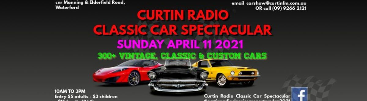 Curtin Radio Classic Car Spectacular 2021 (WA) Cover Image