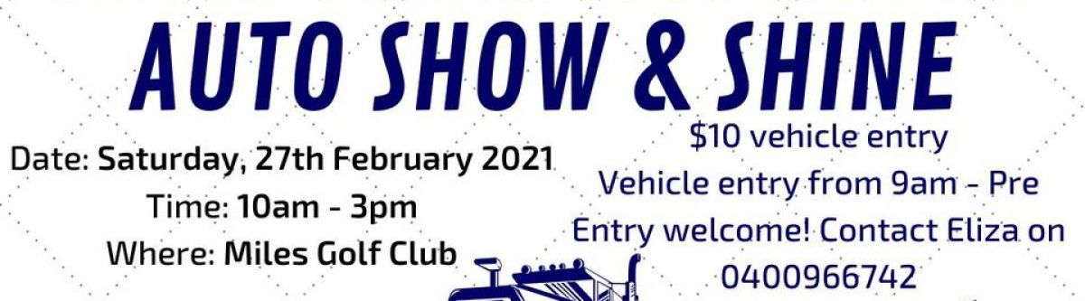 Miles From Anywhere Auto Show & Shine  2021 (Qld) Cover Image