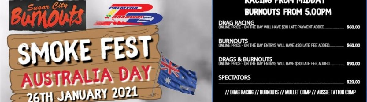 AUSTRALIA DAY smoke fest 2021 (Qld) Cover Image