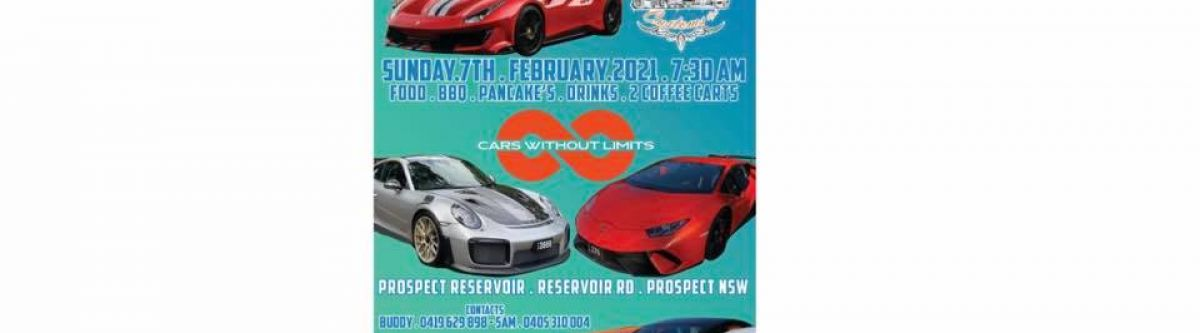 Cars Without Limits Supercar & classic breakfast run (NSW) Cover Image
