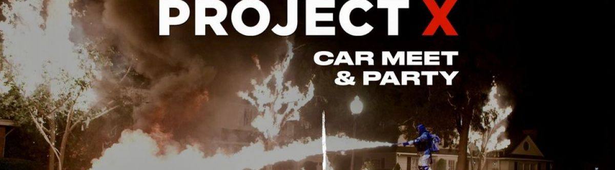 Royal Car Club — PROJECT X CAR MEET & PARTY (NSW) Cover Image