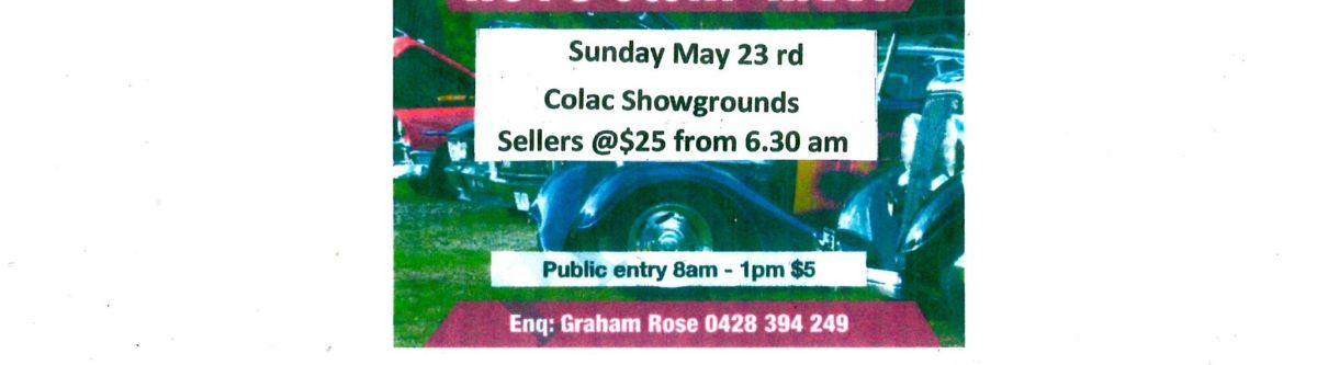 Colac Swap Meet (Vic) Cover Image