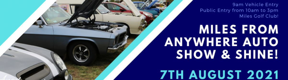 Miles From Anywhere Auto Show  Shine 2021 Cover Image