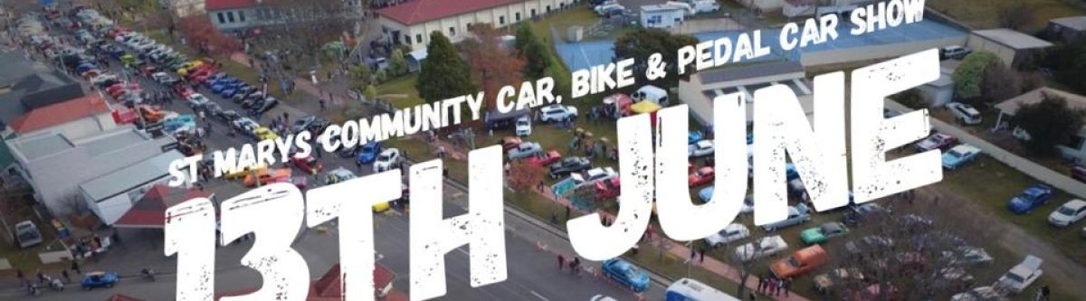St Marys Community Car, Bike & Pedal Car Show (Tas) Cover Image