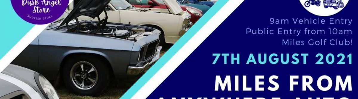 Miles From Anywhere Auto Show  Shine 2021! (Qld) Cover Image