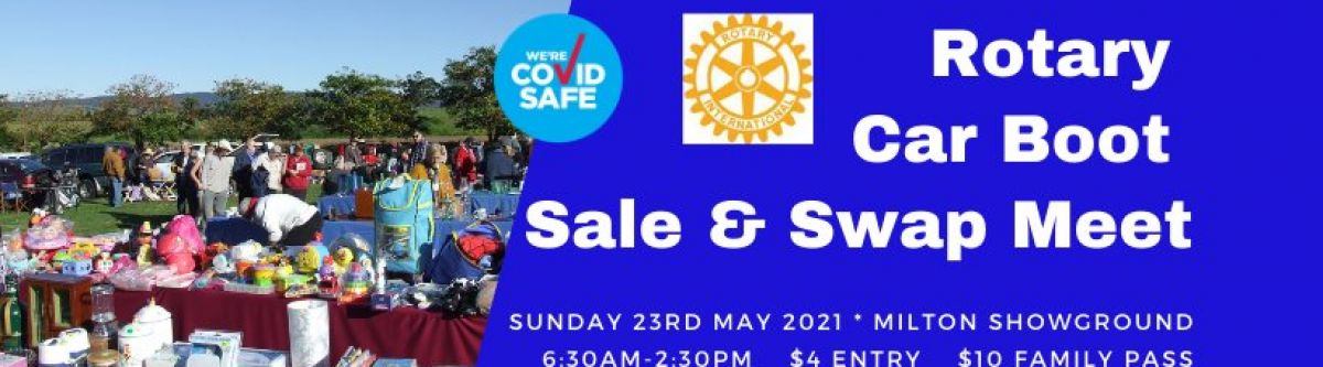 Rotary Car Boot Sale & Swap Meet (NSW) Cover Image